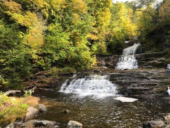 Kent falls State Park. new england road trip fall