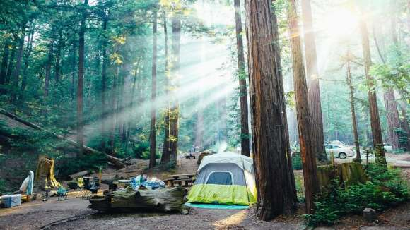 Ventana Campground - best camping in california. best camping in ca