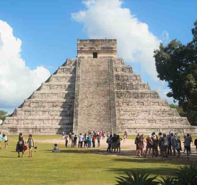 Chichen Itza in Riviera Maya Mexico