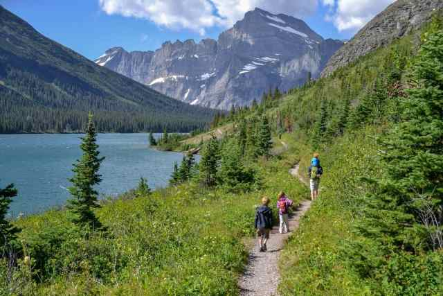 The Glacier National Park is one of the most beautiful national parks in the us