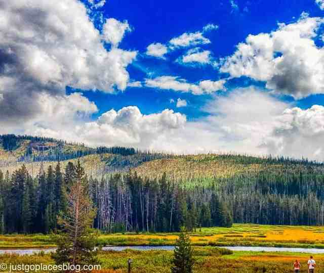 Yellowstone National Park is in the top 10 national parks in usa