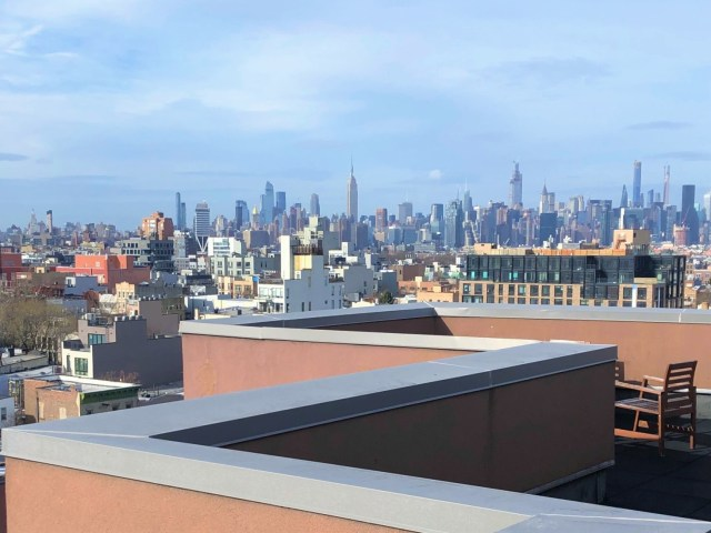 The view from where I live in new york. the cost of living in nyc can be high.