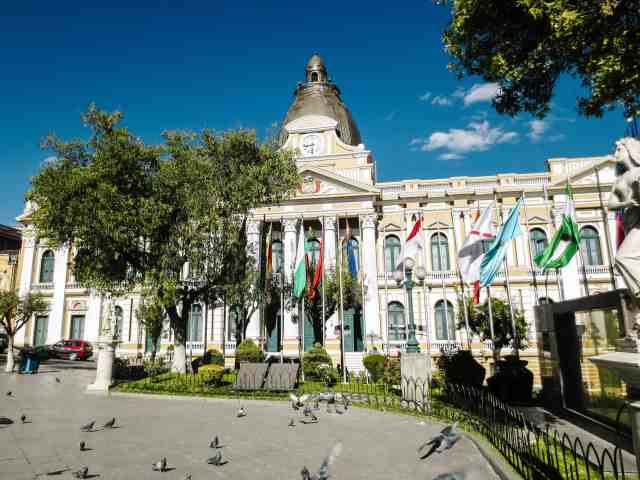 It is not the capital but there are many things to do in la paz bolivia