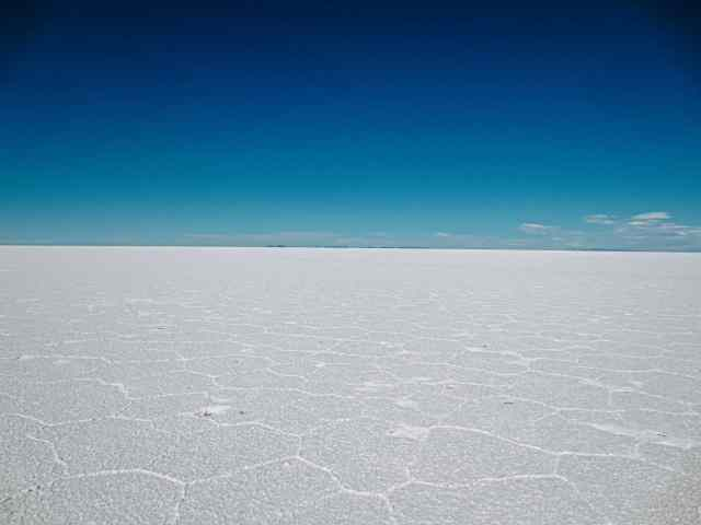 The Bolivia Salt flats are one of the most famous tourist attractions in Bolivia
