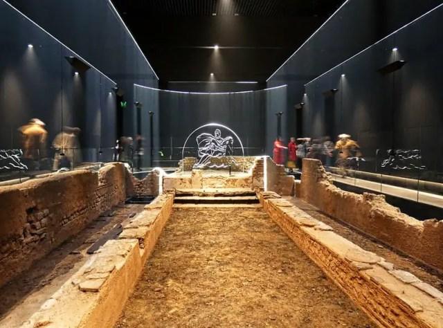 The London Mithraeum is an unusual buildings in london, old london buildings