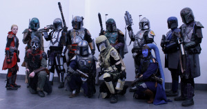 The UK Garrison form up. http://www.ukgarrison.co.uk/ MCM Midlands, Feb 2015