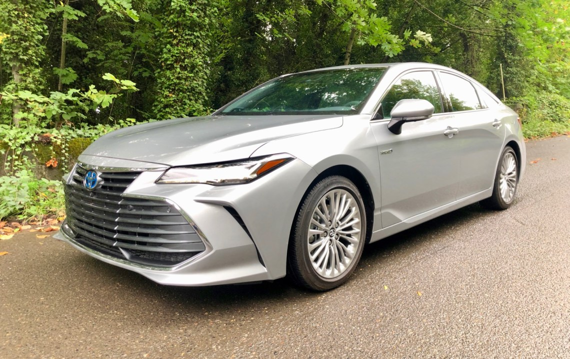 2020 toyota avalon hybrid review: unexpected luxury | the