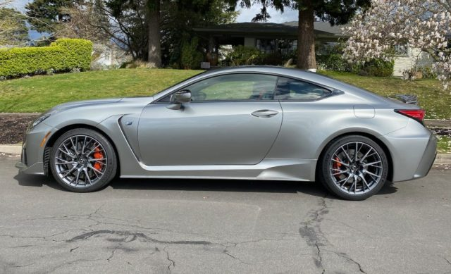 2020 Lexus RC F Review