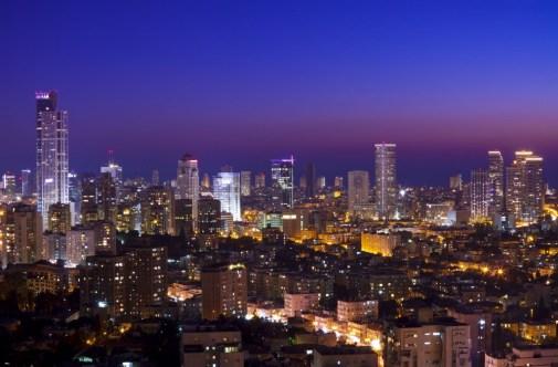 The Israeli juggernaut. Tel Aviv at sunset. Photo: slidezero/123RF Stock Photo