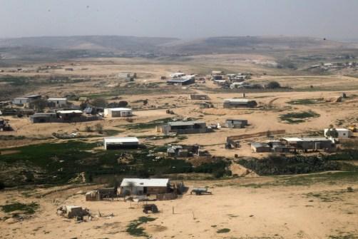 Bedouinvillage in the Negev. Photo: Nati Shohat / Flash90