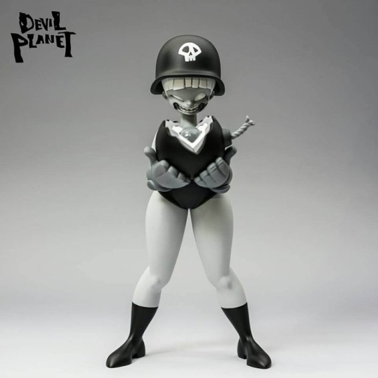 Sally Loves Bomb Clone Army Sallies Mono Edition By Devil Planet KANG GOON x TJ CHA front