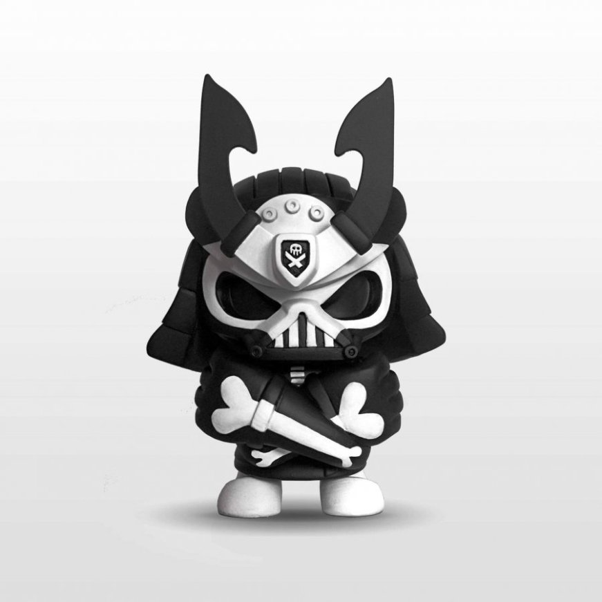 Baby Ghost custom Skullhead Samurai By Quiccs pobber JPK Huck Gee FLABSLAB FULL The toy chronicle