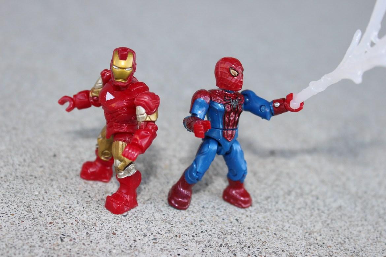 Marvel Mega Bloks (Mega Construx) Iron Man and Spider-Man