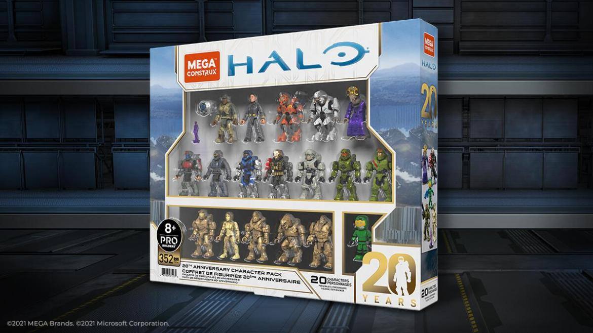 Mega Construx Halo 20th Anniversary Character Pack Coming in Fall 2021