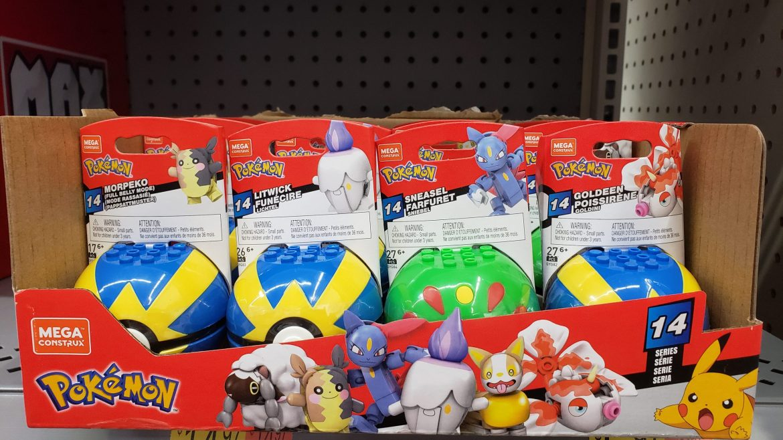 Mega Construx Pokemon Series 14 Box Distribution (Character Ratio)