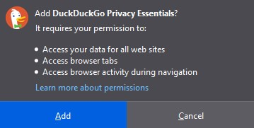firefox add-ons _extention _ allow