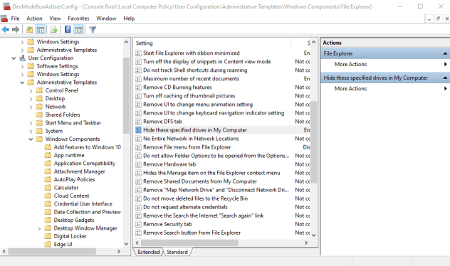 """How to Hide Drives in """"This PC"""" in Windows [Hide these specified drives in My Computer]"""