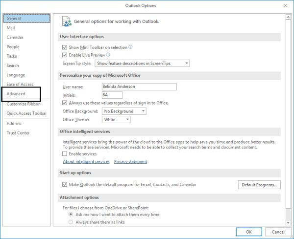 Speed up email in Outlook