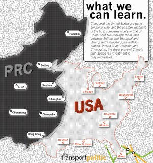China Versus United States High Speed Rail