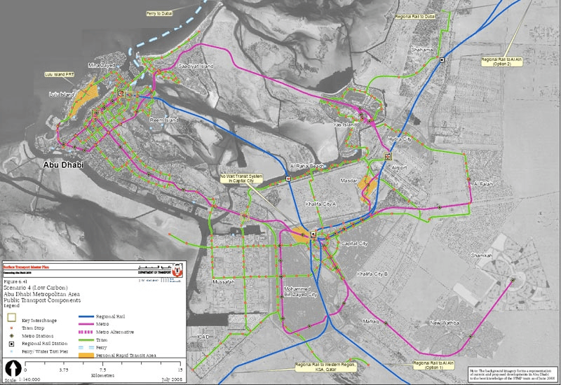 Abu Dhabi Releases Ambitious Transport Plan The Transport Politic