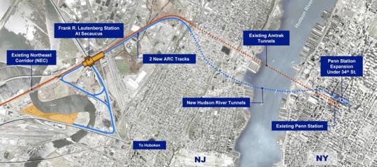 ARC Tunnel Map