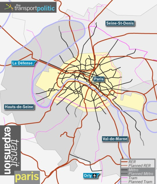 Paris Transit Expansion