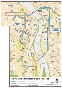 Portland Eastside Extension Map