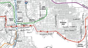 Baltimore Red Line Light Rail Map