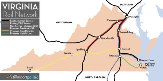 Virginia Rail Network