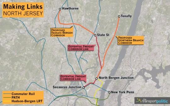 North New Jersey Transit Plans