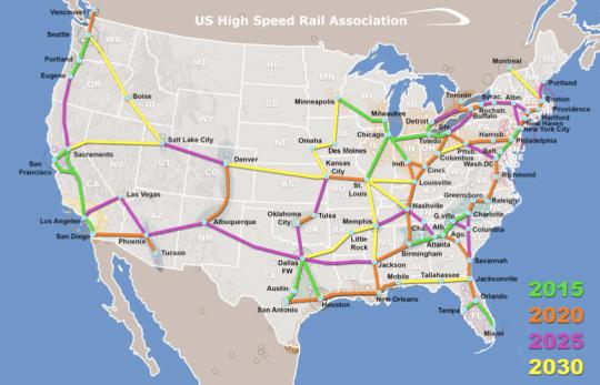 USHSR Association Map