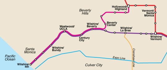 Westside Subway Extension Service Map