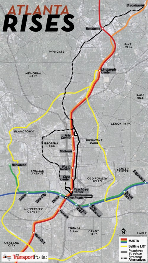 Atlanta Future Transit Map