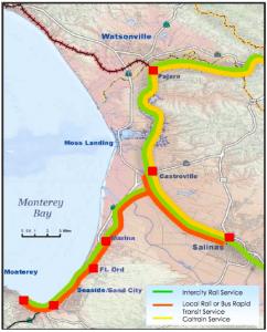 Monterey Bay Transit Map