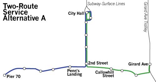 Philadelphia-Waterfront-Transit-Map-2-Routes-A