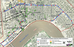 New Orleans Proposed Streetcar Alignments