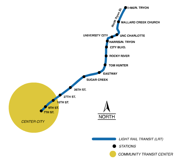 Charlotte\'s Northeast Corridor Light Rail Line Underfunded, Likely ...