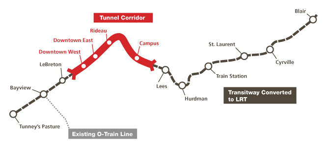 Ottawa Closer Than Ever To Replacing Bus Rapid Transit With Light Rail The Transport Politic