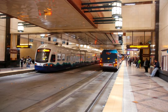 Seattle's North Link Light Rail, Originally Considered for Highway