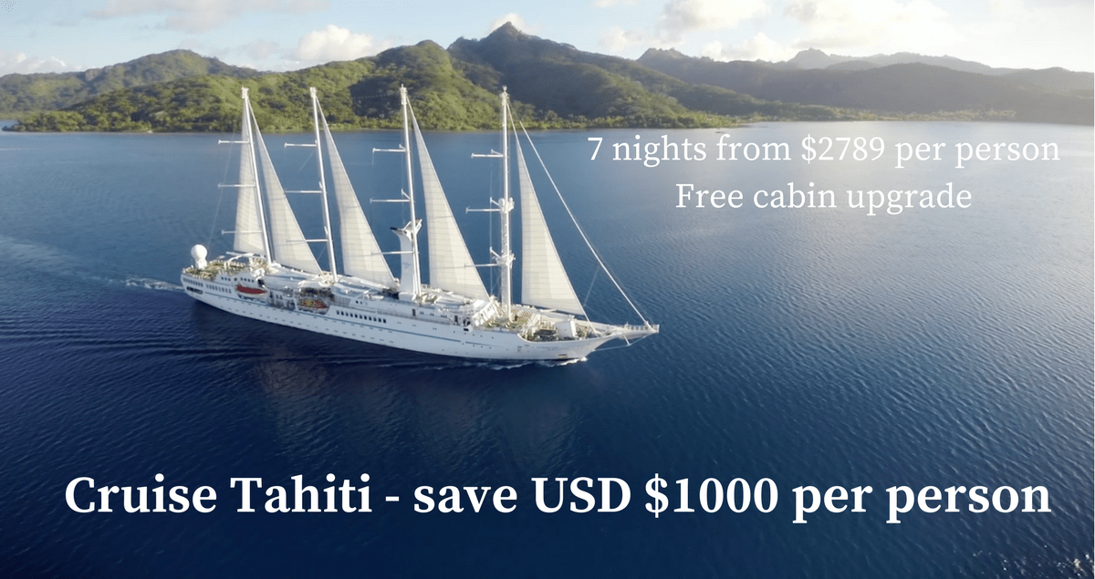 Cruise Tahiti Windstar