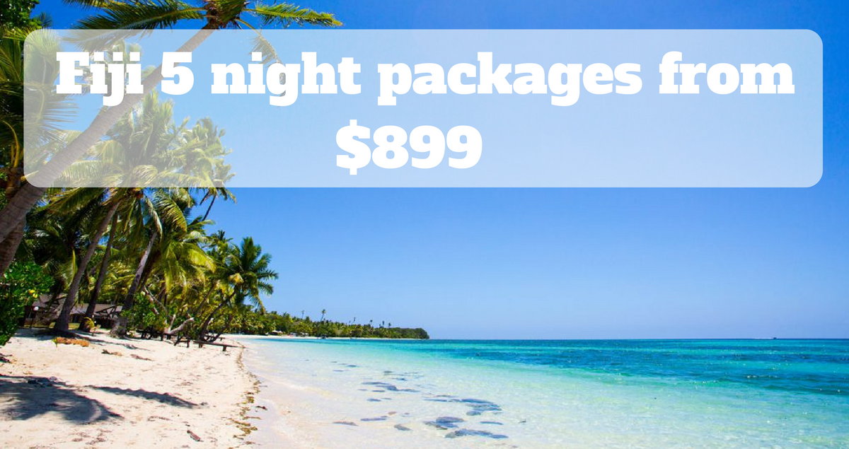 Fiji Island package