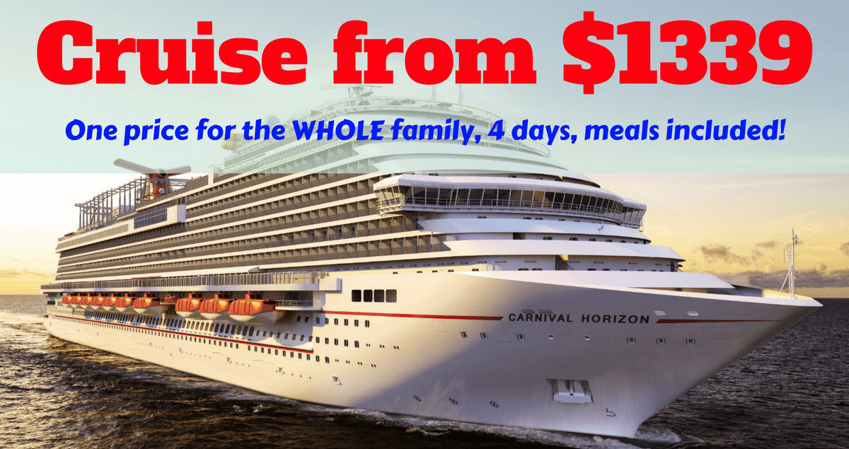 Carnival Cruise from $1399