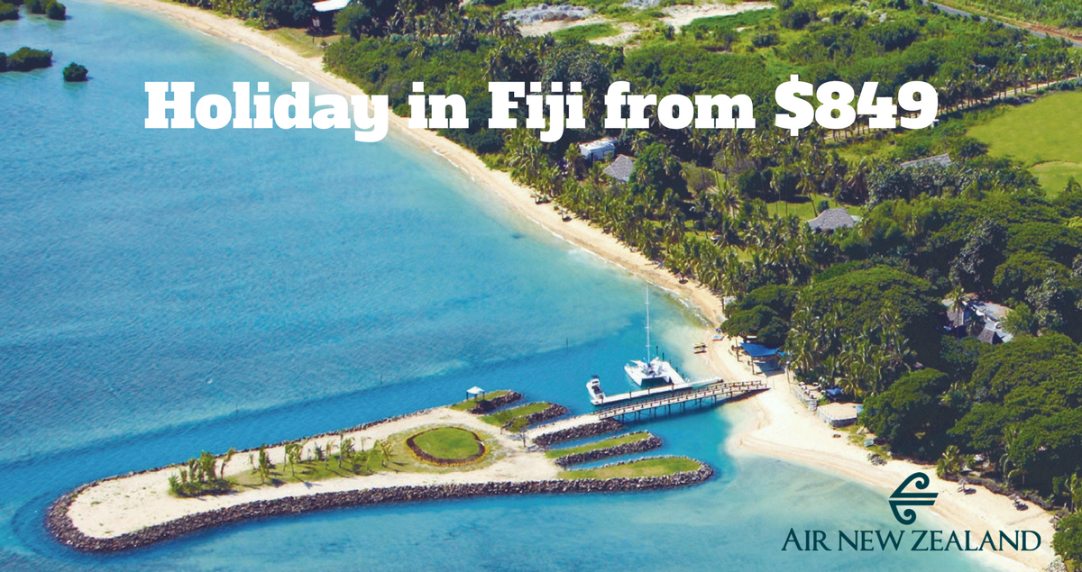 Holiday in Fiji from $849