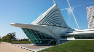 The Calatrava-designed Art Museum