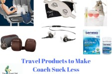 Travel Products to make coach suck less