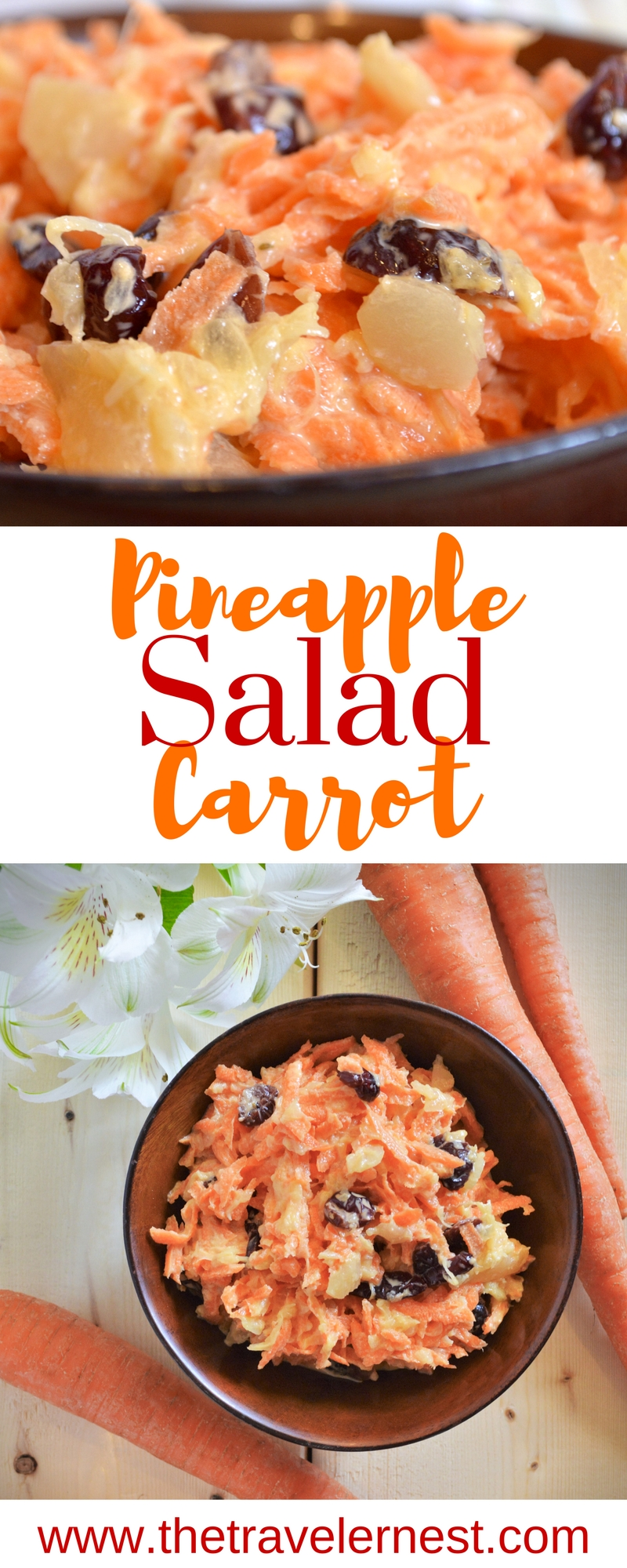 Pineapple Carrot Salad Recipe