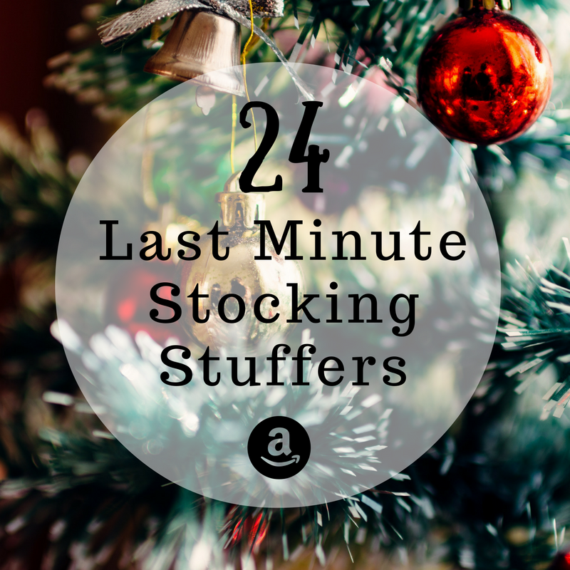 24 Last Minute Stocking Stuffers from Amazon – All Under $10!