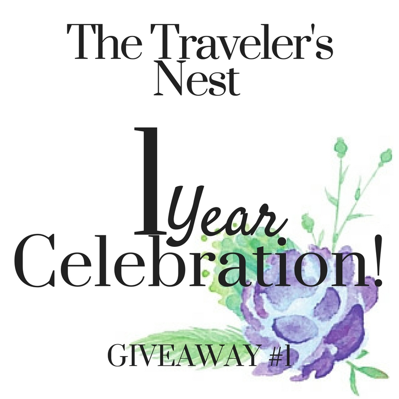 1 Year Blogiversary = 1 Month of Giveaways!