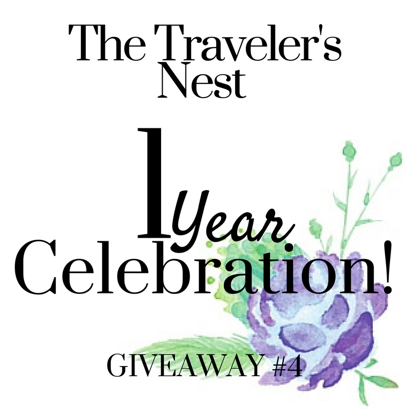 1 Year Blogiversary: Giveaway #4