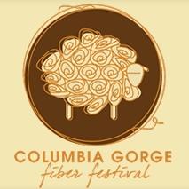 Columbia Gorge Fiber Festival Logo